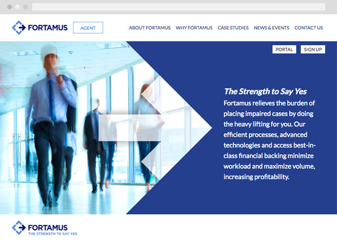 Fortamus website