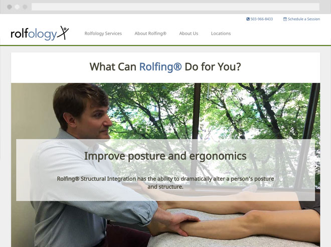 Rolfology website